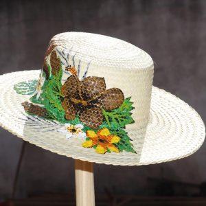 Chapeaux peints